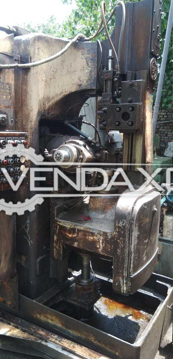 Cleveland Hobbing Machine - Hob Diameter - 4 Inch