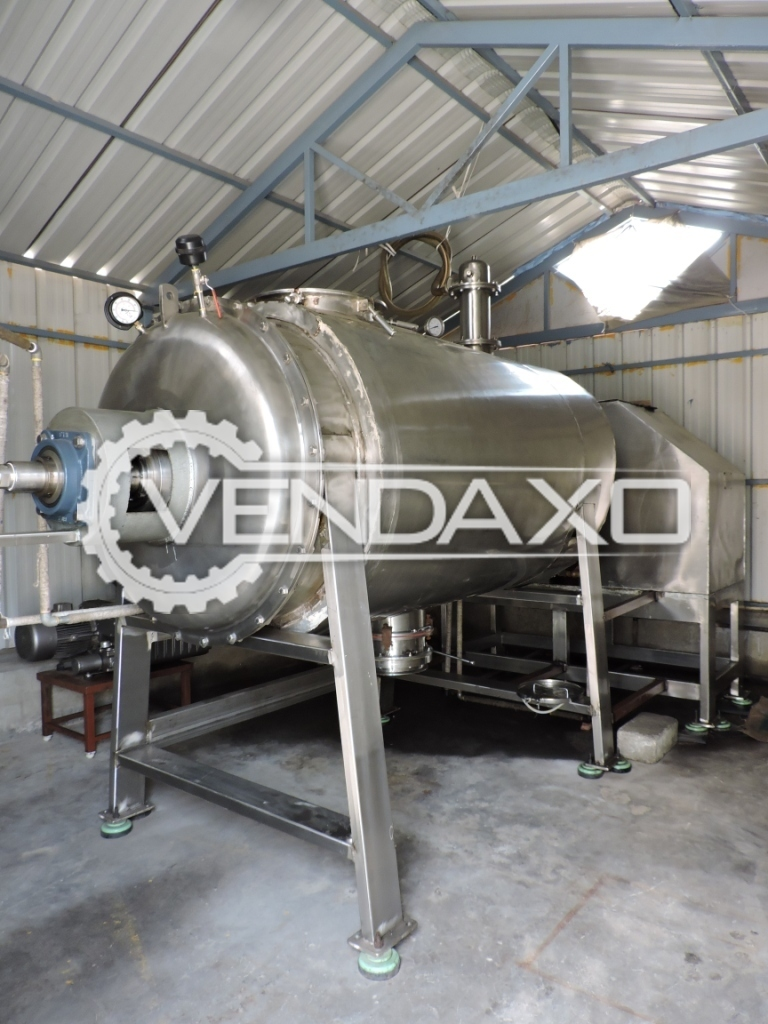 Millennium Industry Make Rotary Vacuum Paddle Dryer (RVPD) - 2 KL