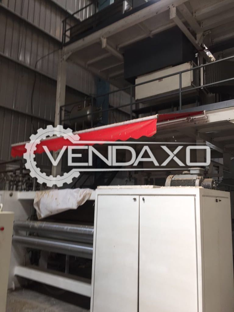 Non-Woven fabric making extrusion system