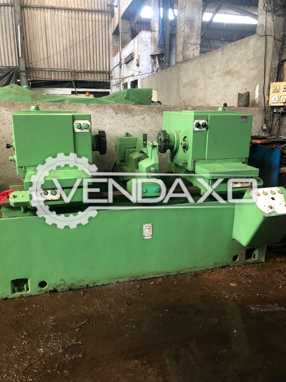 WMW Facing and Centering Grinding Machine - 1000 mm