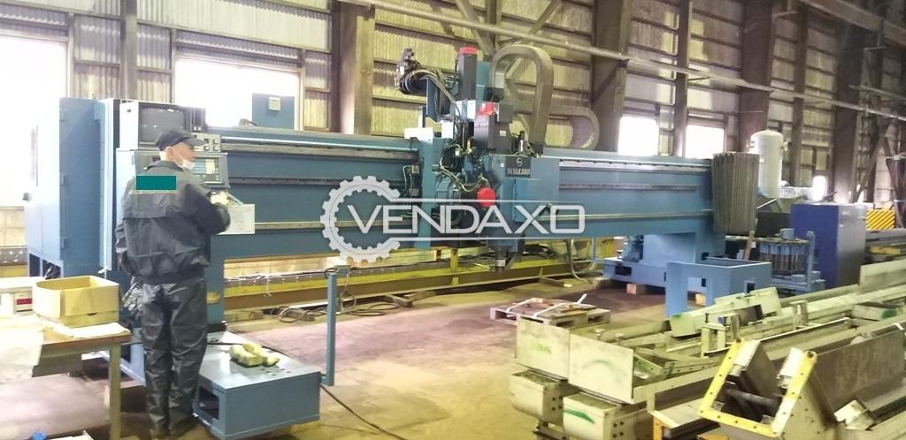 Miyagawa Make Gantry Type High Speed CNC Drilling/Milling Machine - Spindle Diameter : 90mm