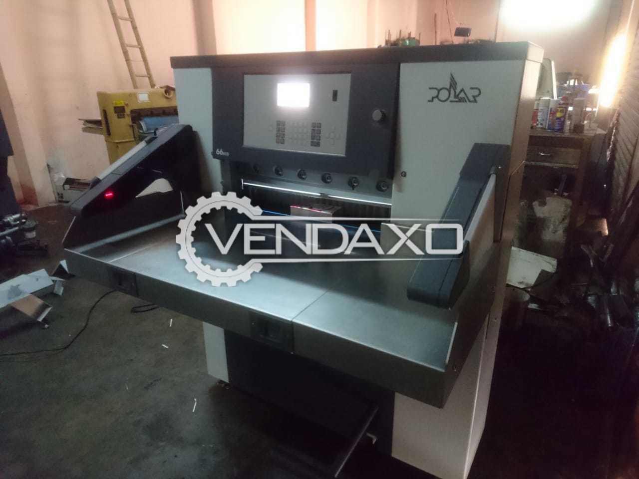 Polar 66 Eco Paper Cutting Machine - 26 Inch, 2012 Model