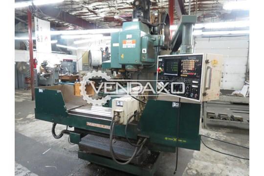 Matsuura MCV1000 4th Axis CNC Vertical Machining Center - Table Size : 1150 x 510 mm