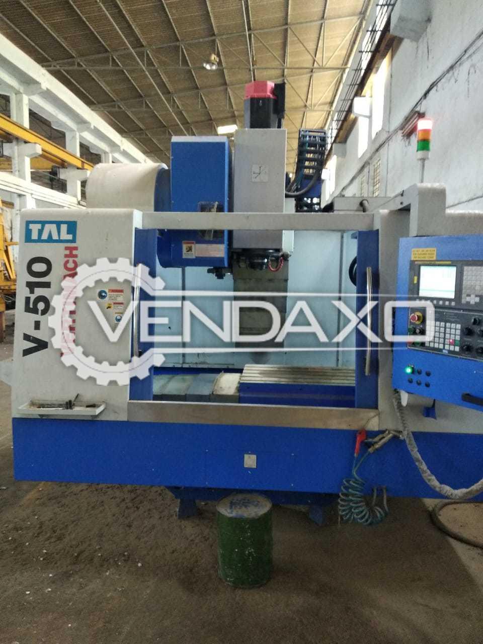 TAL V510 CNC Vertical Machining Center - 800 x 500 mm
