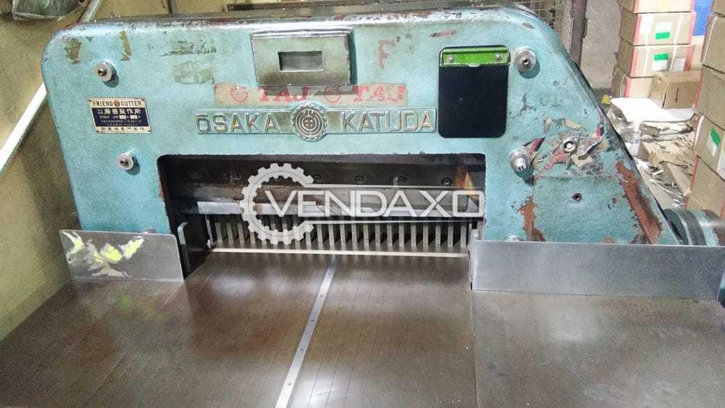 Katuda Make Paper Cutting Machine - 28 Inch