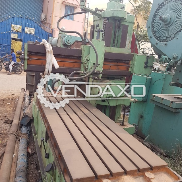 England Make Hydraulic Side Way Planning Machine - 2000 x 700 mm