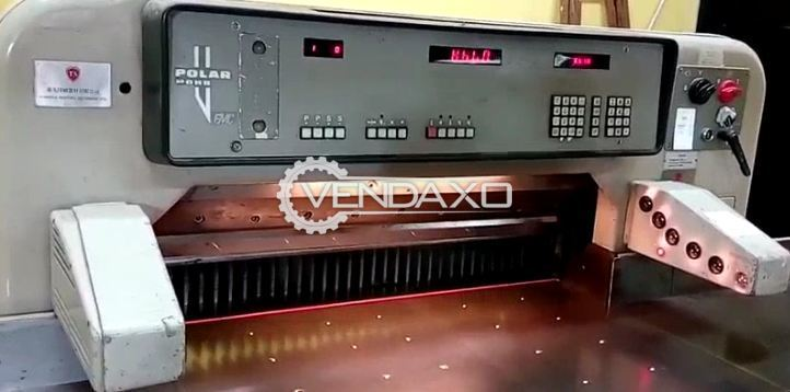 Polar Mohr Paper Cutting Machine - Size - 36 Inch