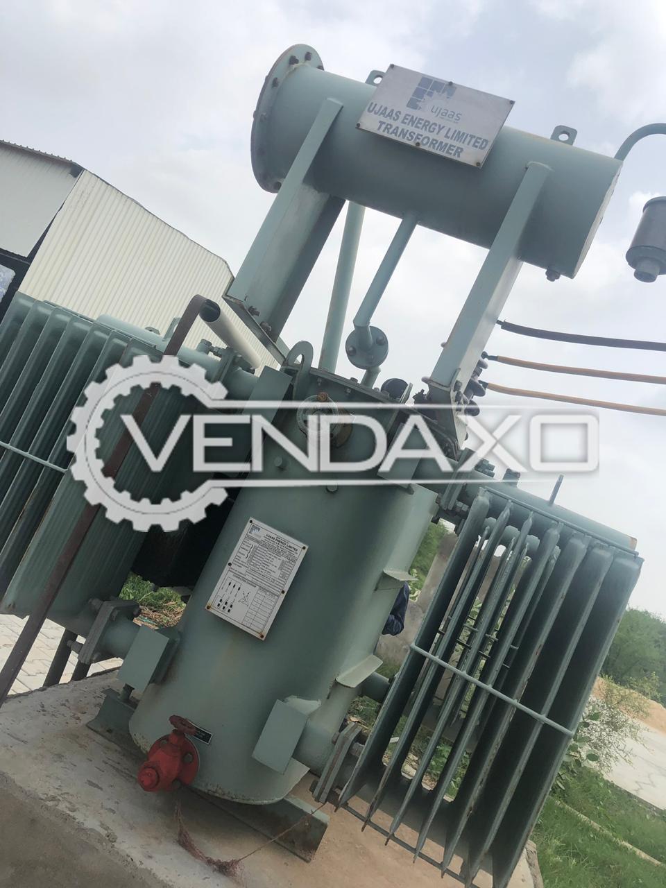 UJAAS Make Transformer - 500 Kva, 2014 Model