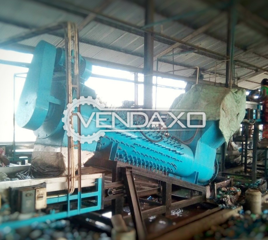 Available For Sale PET Bottle Crushing and Washing plant - 2015 Model