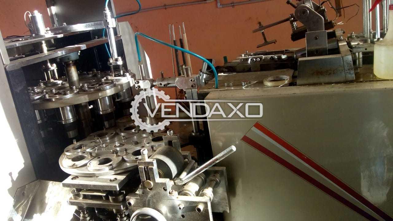 AKR PC1000 Paper Cup Manufacturing Machine - 45 ML To 330 ML