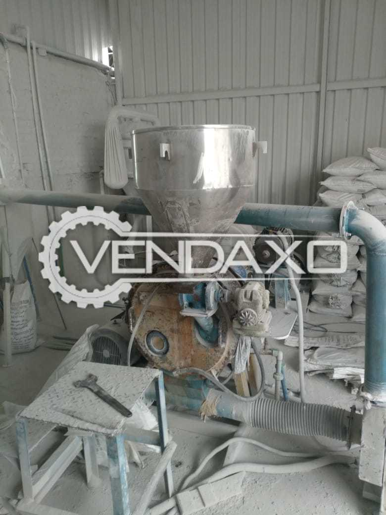 Jogindra Make JPZ-080 PVC Pulverzer Machine - Motor - 30 HP