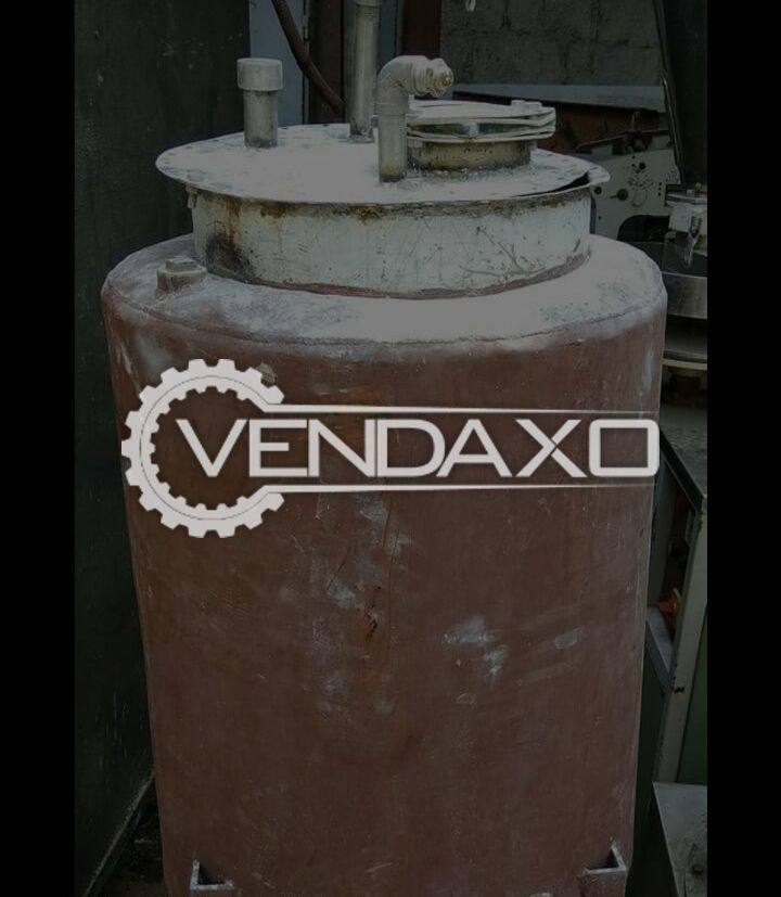 Used Jacketed Steam Vessel - 50 ltr