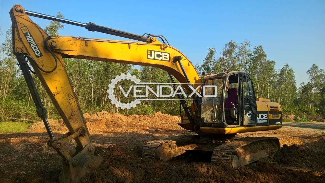 JCB JS200 HD Excavator - 127 HP, 2010 Model