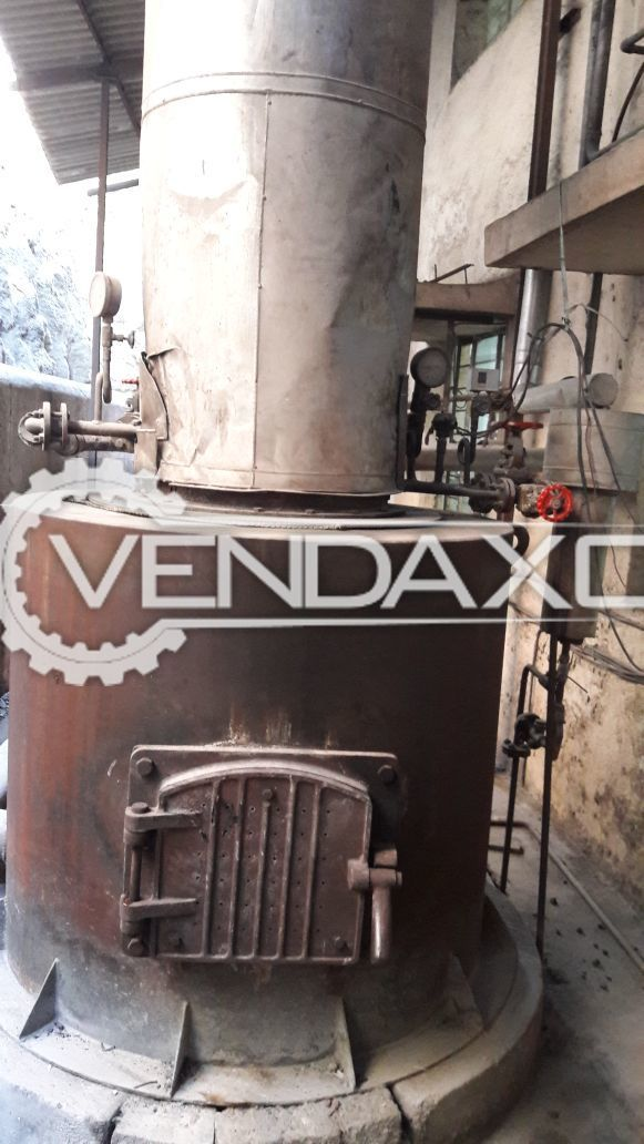Fuelpac FWC-40 Steam Boiler - 400 Kg/Hr