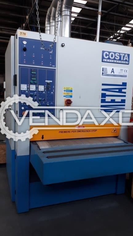COSTA MA2CVC-1150 Deburring Machine - 1000 mm