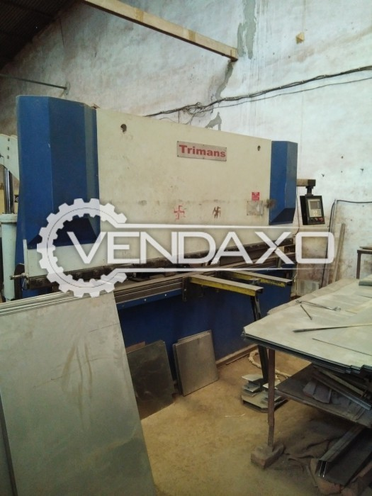 Trimans NC Press Brake - 60 Ton