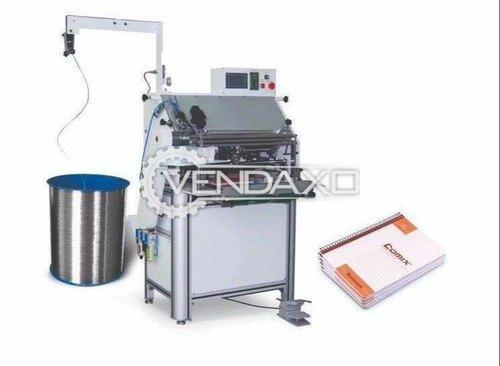 Automatic Spiral Binding Machine - 800 To 1300 Books per hour