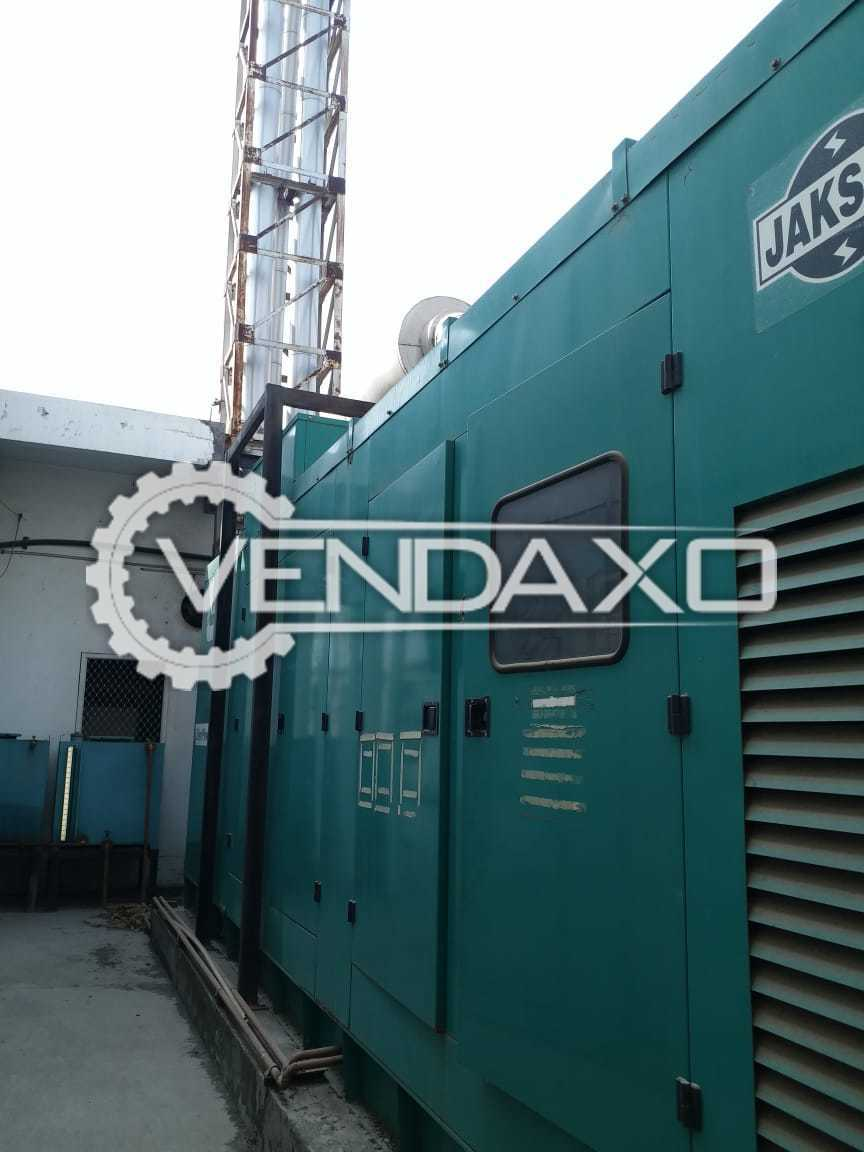 Cummins KTA 38 Diesel Generator - 750 Kva With Canopy
