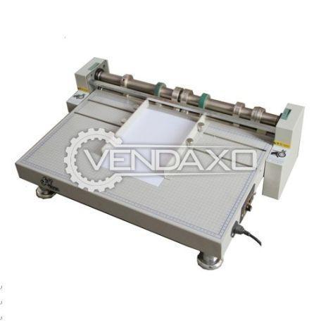 Heavy Duty Large Size Electric Creasing Perforating Slitting Machine - 660 mm