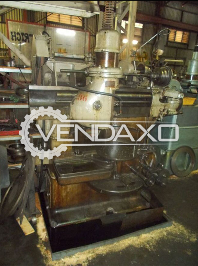 Fellows 6A Gear Shaper Machine - Max.Gear Diameter : 600mm