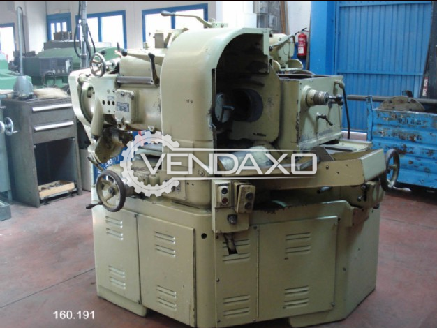 Gleason 17A Leason Lapper Tester Machine - Max. Wheel Diameter : 508 mm