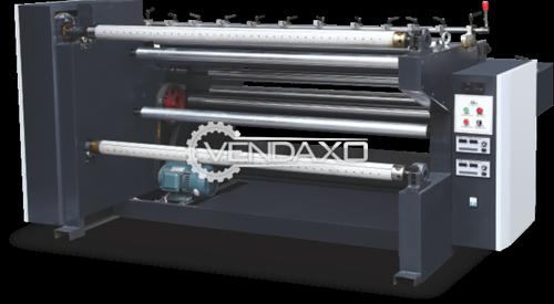 Non Woven Fabric Slitting Machine - Speed - 20 To 80 meter/minute