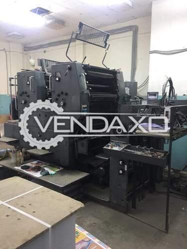Heidelberg SORMZ Offset Printing Machine - 20 x 28 Inch, 2 Color
