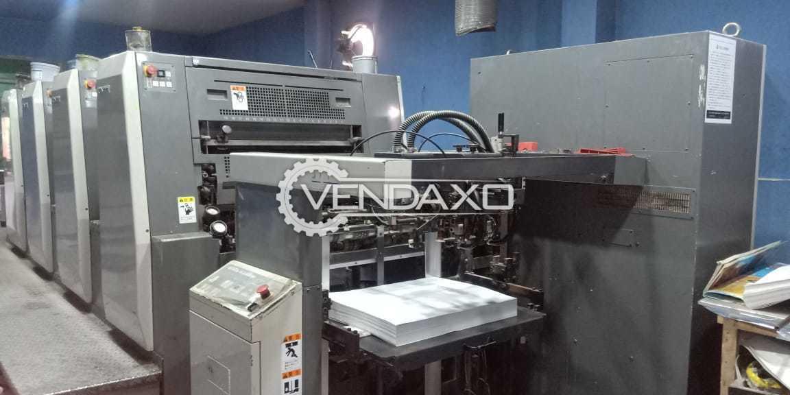 Komori Spica 426 Offset Printing Machine - 18 X 26 Inch, 4 Color