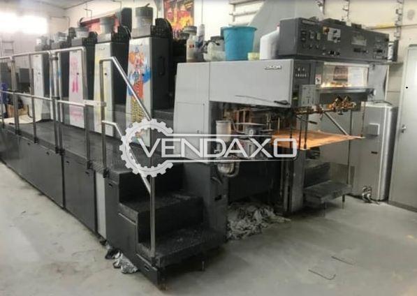 Komori Lithrone 528EM Offset Printing Machine - 20 x 28 Inch, 5 Color