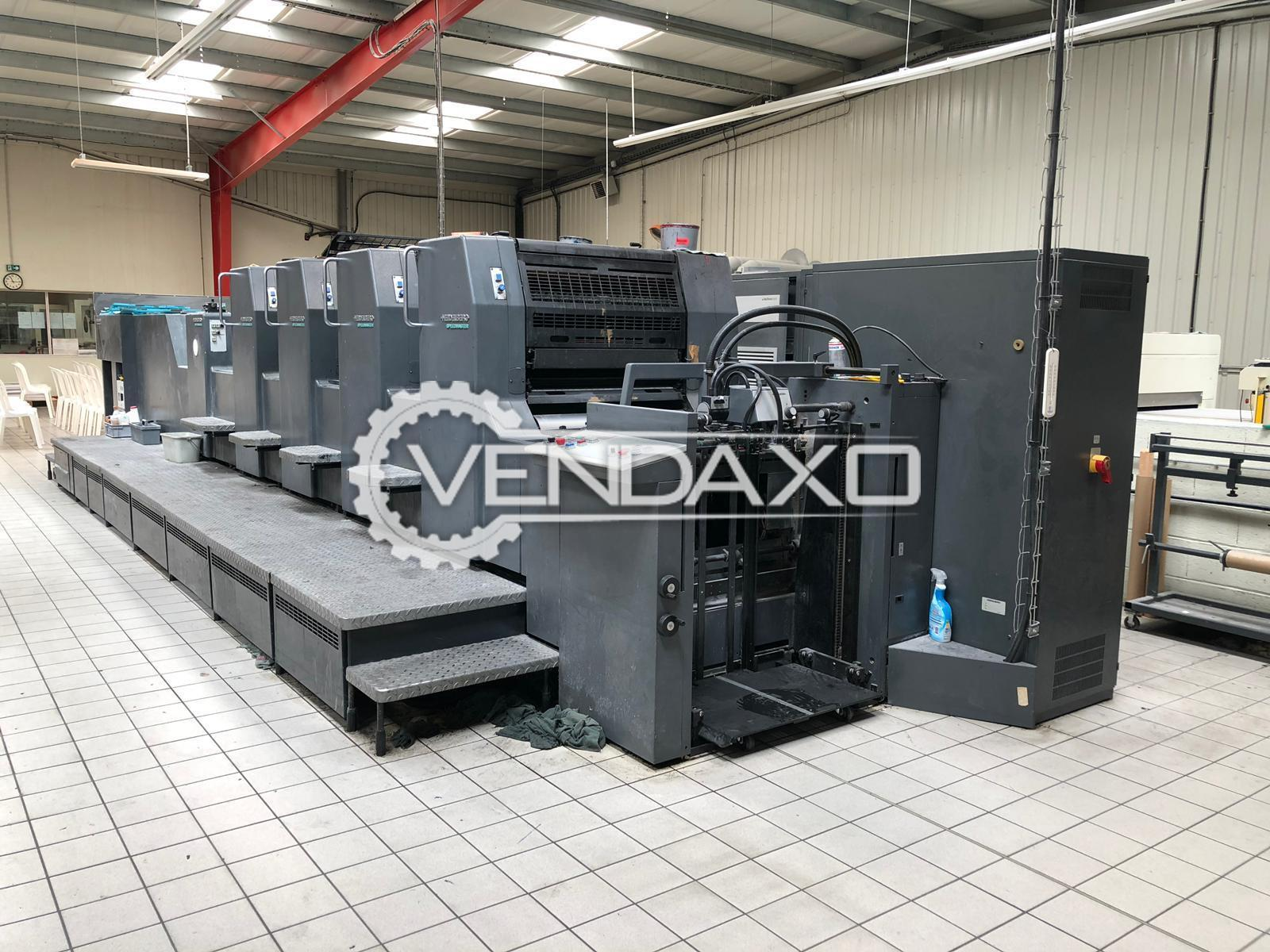 Heidelberg SM 74-4LX Offset Printing Machine - 20 x 29 Inch, 4 Color