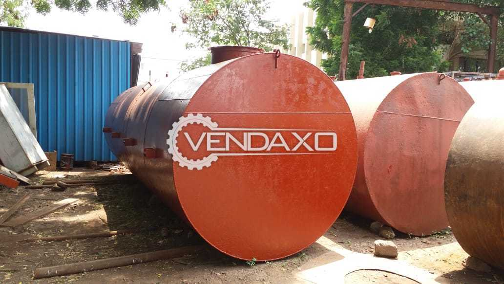 MS Storage Tank - Diameter :  2100 x 6200 mm