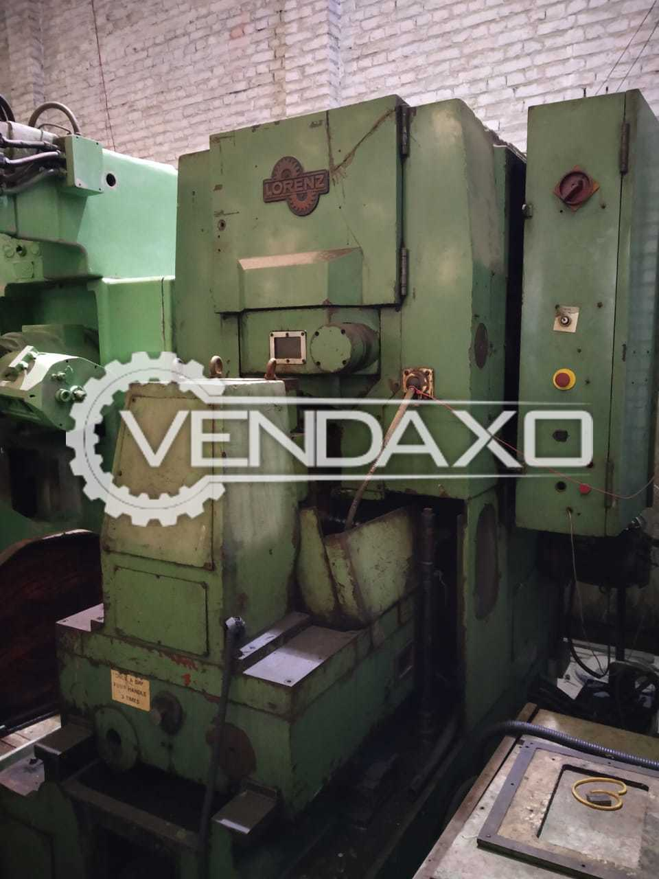 Lorenz LS400 Gear Shaping Machine - Measurements Width : 2570 mm