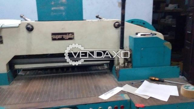 Super Sujata Paper Cutting Machine - Size - 31.5 Inch