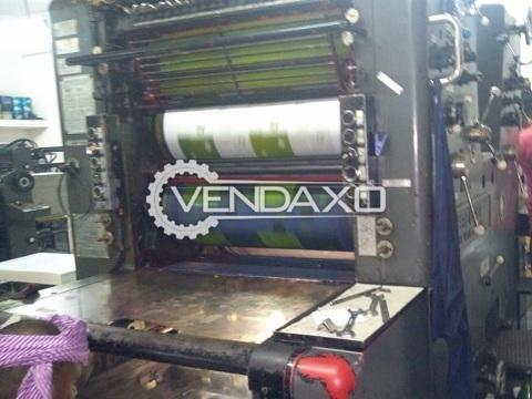 Heidelberg SORKZ Offset Printing Machine - 19 x 25 Inch, 2 Color