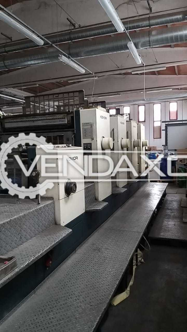 Komori Lithrone 440 Offset Printing Machine - Size - 28 x 40 Inch, 4 Color