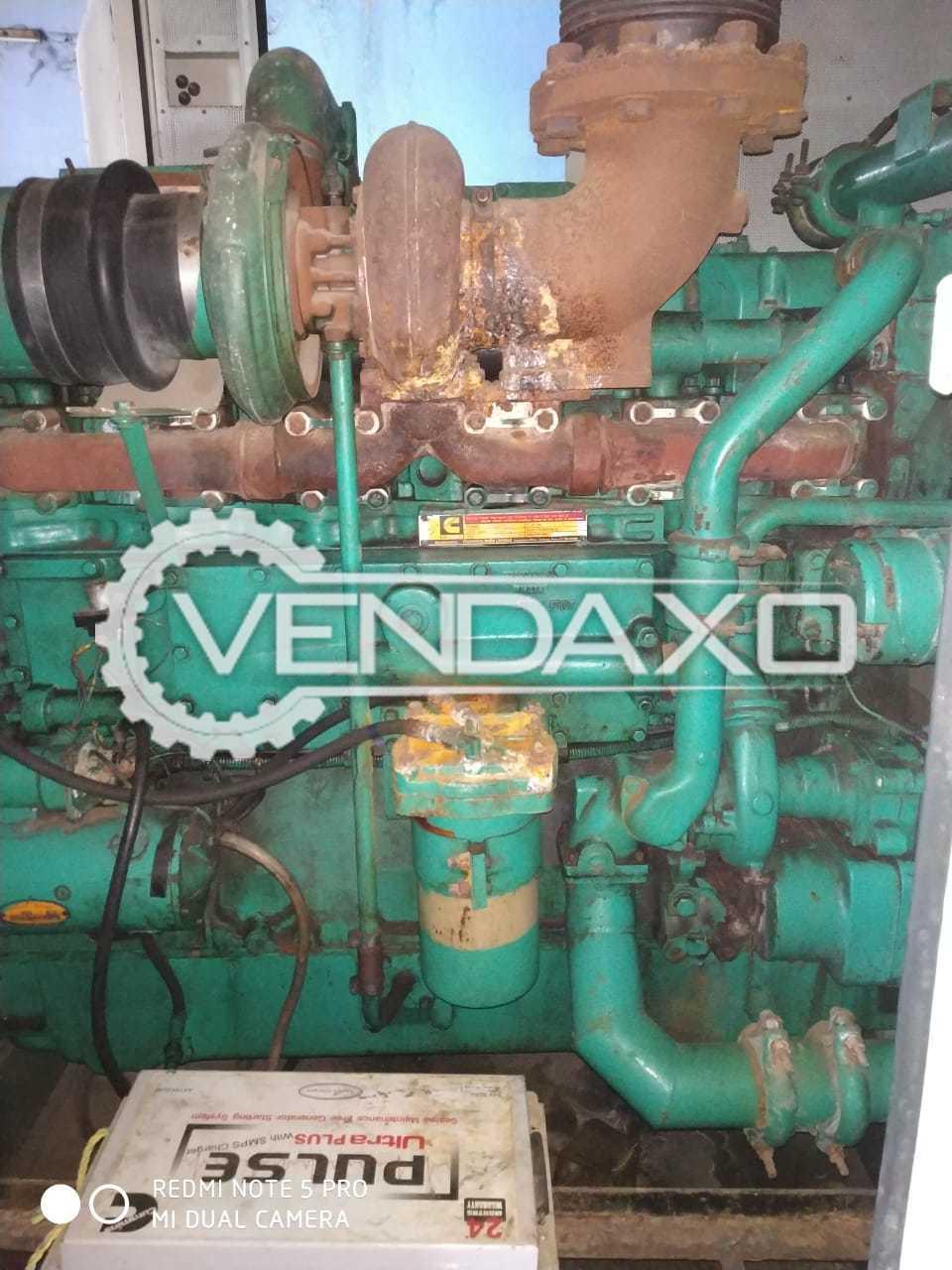 Sudhir HC544F1 Diesel Generator - 625 kVA, 2002 Model