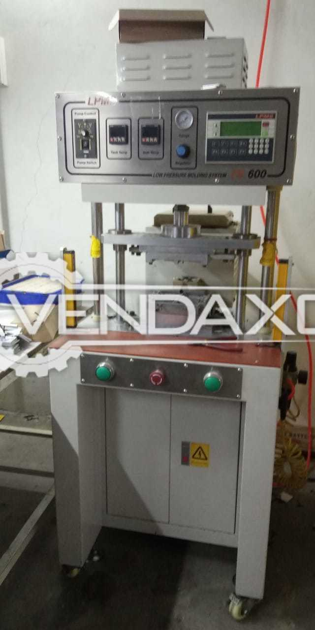 Available For Sale Injection moulding, Spot welding, Air Compressor, Die, Battery Volt Testing Machine