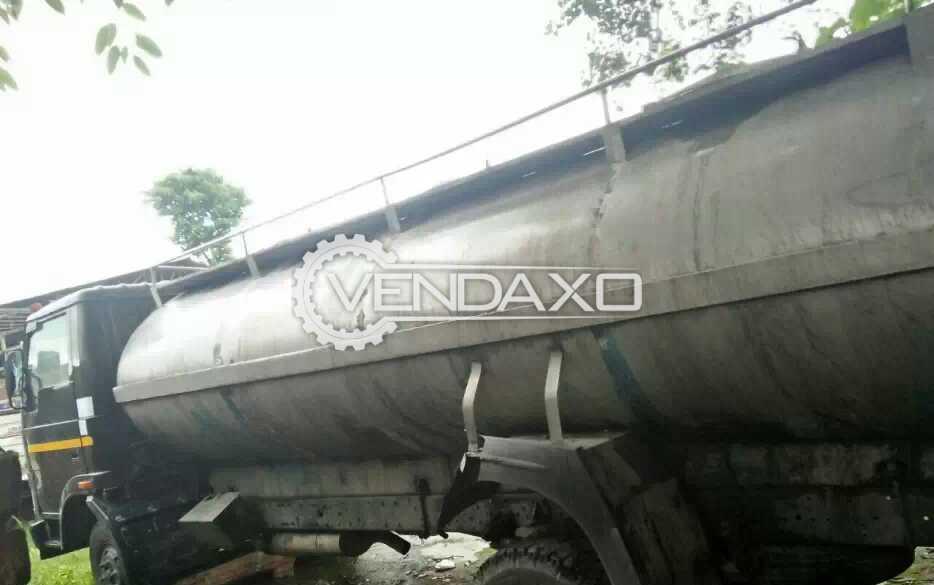 Milk Tanker - 7800 liter