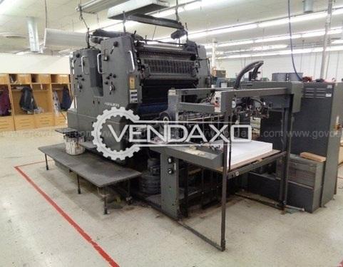 Used Heidelberg SORDZ Offset Printing Machine - 25 x 36 Inch