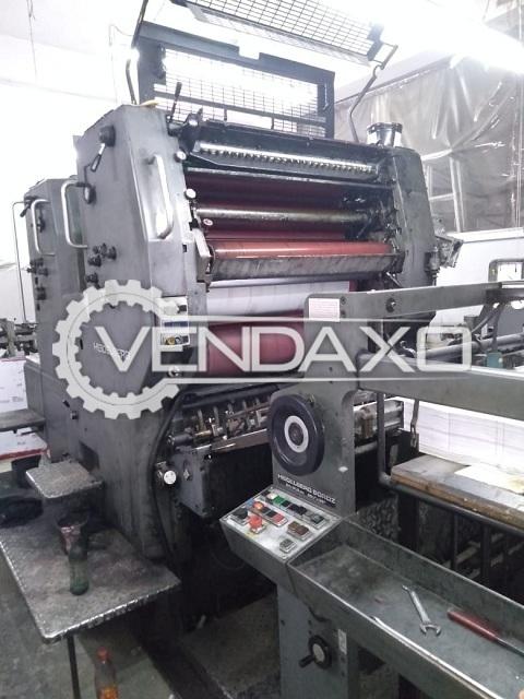 Heidelberg SORDZ Offset Printing Machine - 25 x 36 Inch, 2 Color