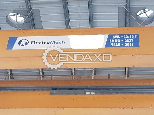 Electromech Crane - Width - 20 Meter, 2011 Model