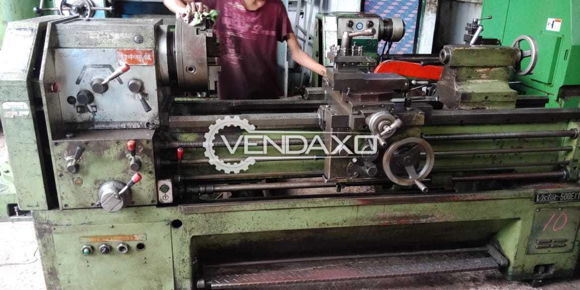 Victor Make Lathe Machine - 1.5 meter