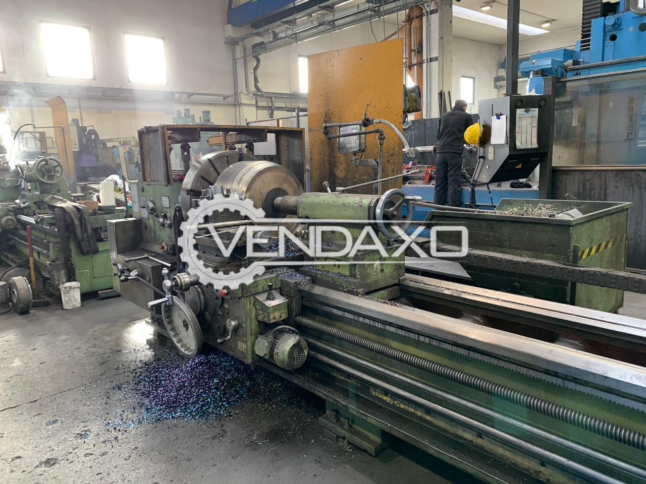 Stanko Make Lathe Machine - Center height : 425 mm