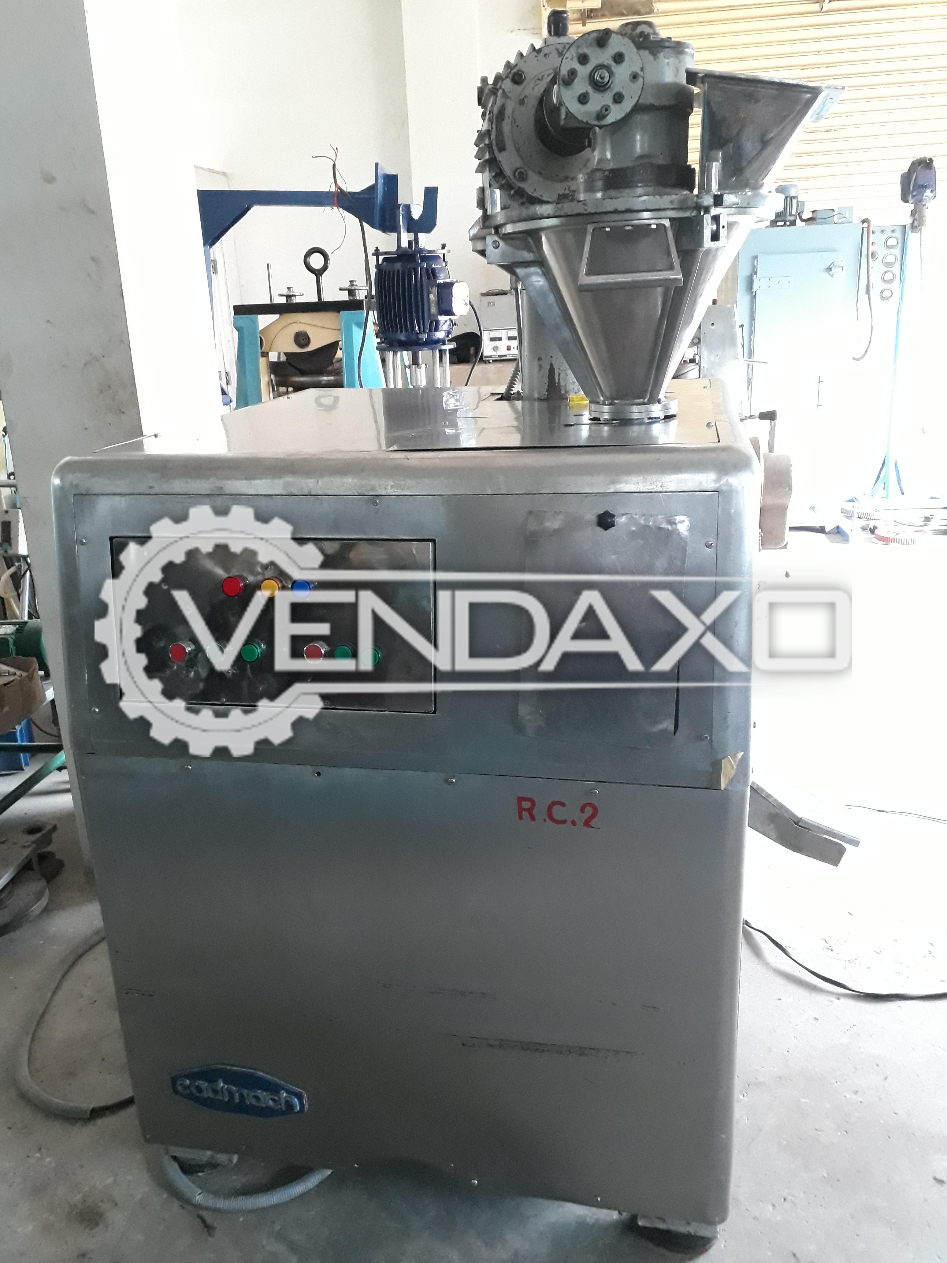 Cadmach GMP Roll Compactor - 30-100 KG/HR