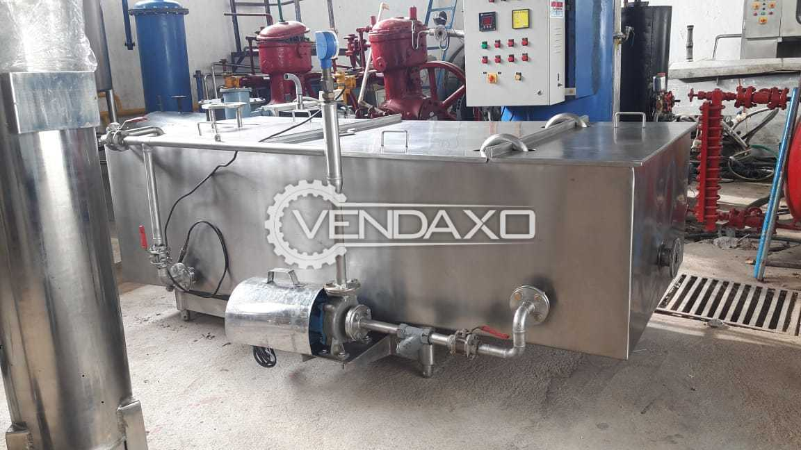 Available For Sale Complete Ghee Plant Equipment - 2000 KG