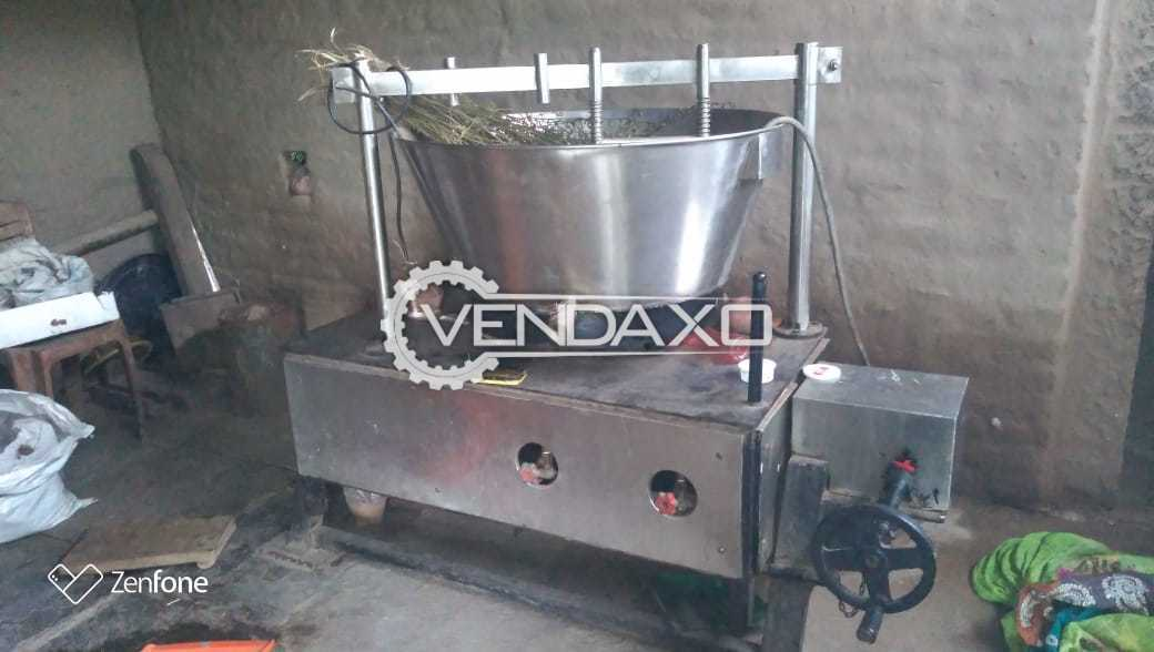 Bhatti or Khwa Making Machinery - 40 Liter