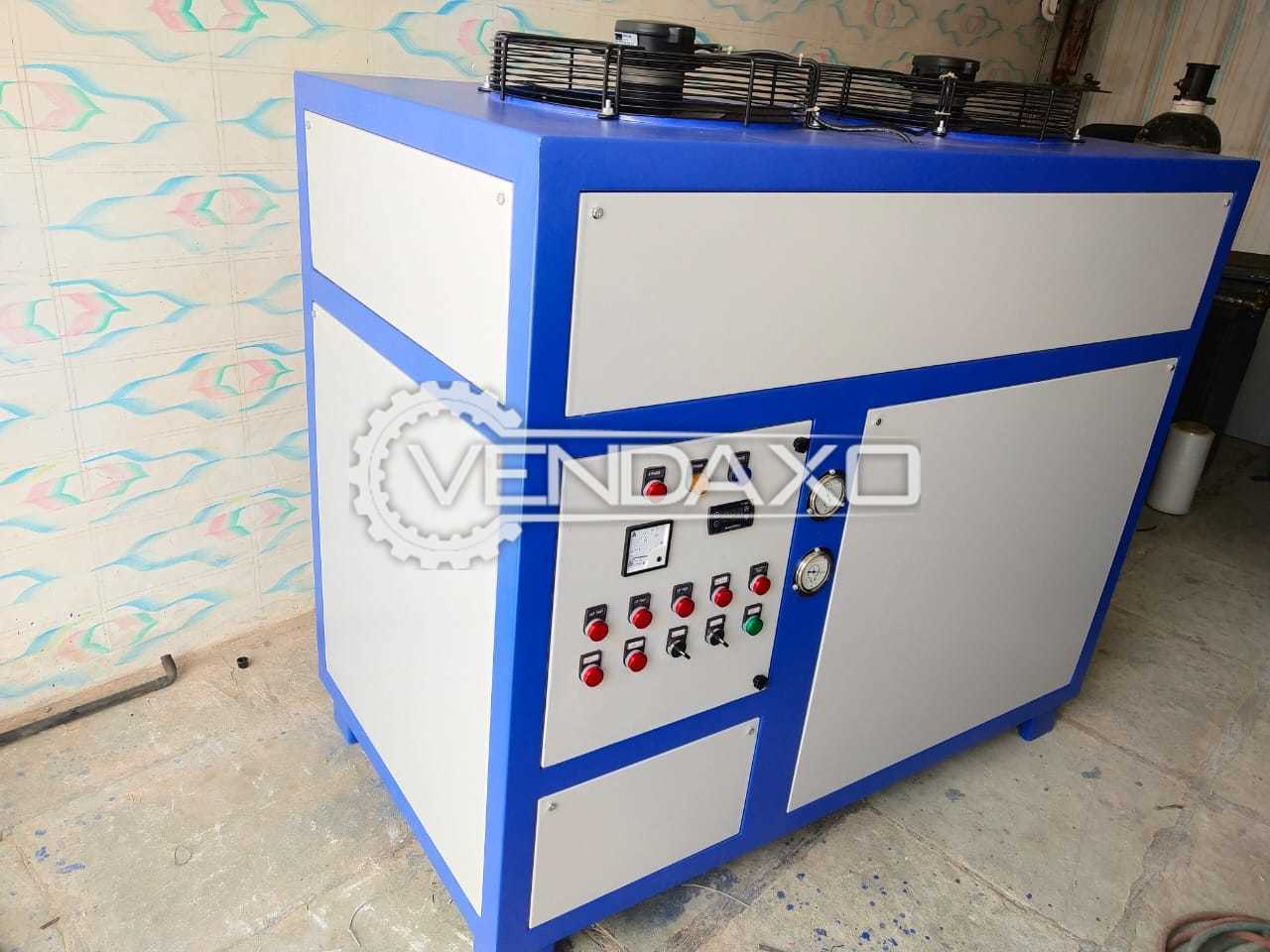 Comfort Cooling System Make 5TRC Industrial Chilling Plant - 5 Ton