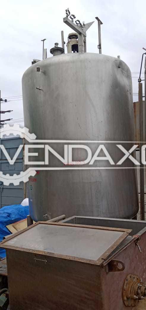Indian Make 304 Storage Tank - 3 KL