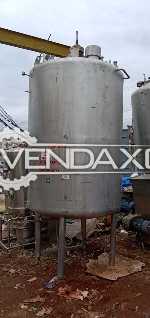 Indian Make 304 Storage Tank - 4 KL