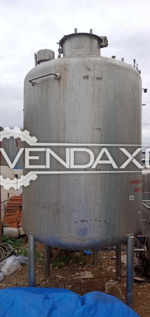 Indian Make 304 Storage Tank - 5 KL